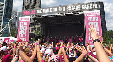 The Walk to End Breast Cancer