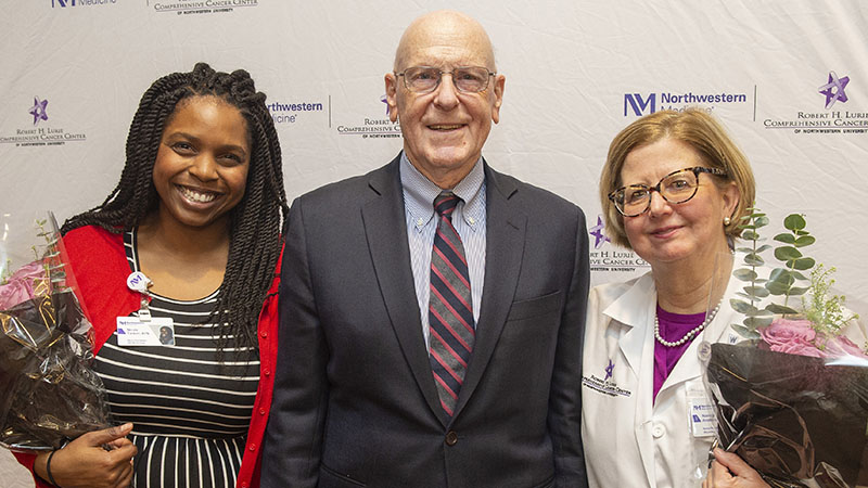 2018 Awards Recognize Outstanding Care and Support: Robert H  Lurie