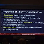 Recent presentations at the Cancer Survivorship Symposium in Orlando, FL